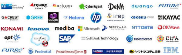 様々な企業の求人が集まる